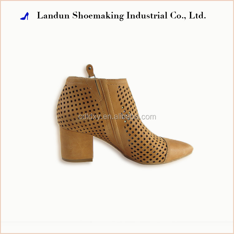 Fashion breathable women's cowboy boots ladies motorcycle