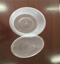 Cheap disposable customized clear plastic bowl