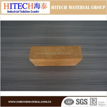 Good price Zibo Hitech straight dense magnesite refractories bricks for tunnel kilns