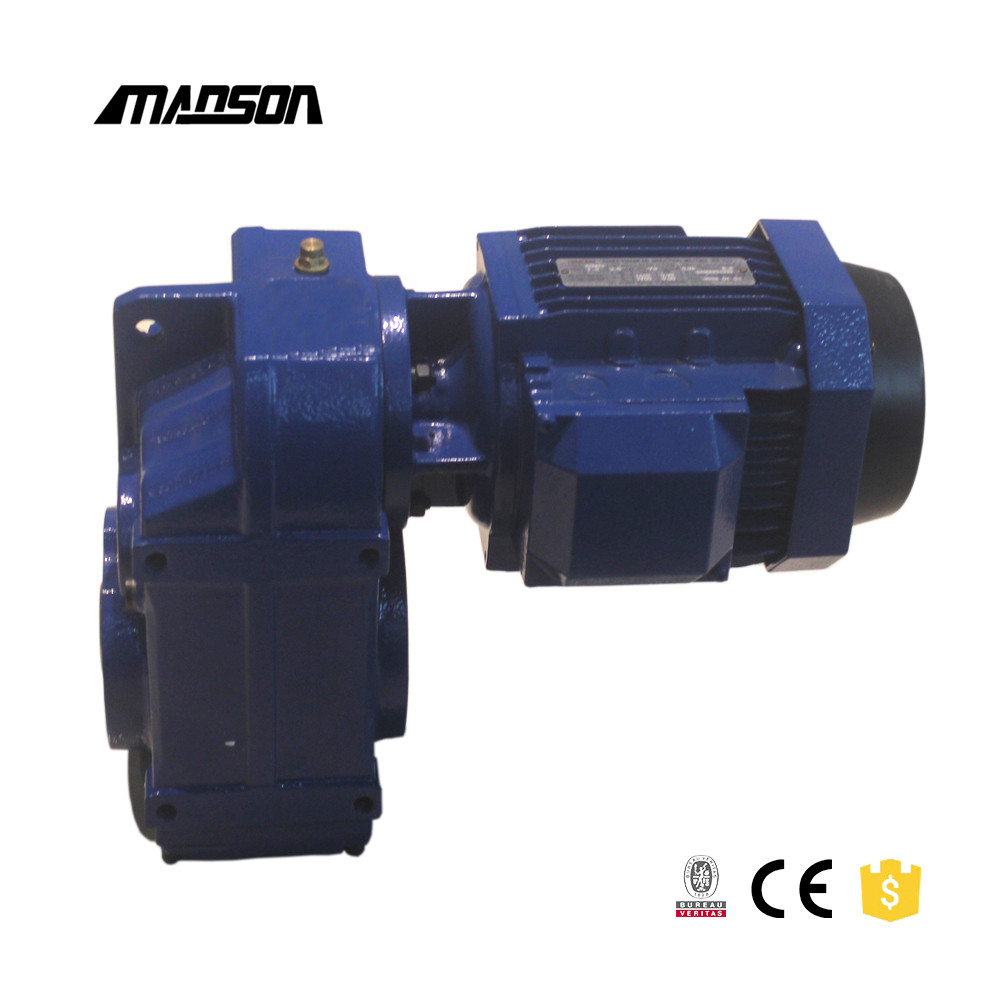 F Series Helical Gear Motors With Parallel Shaft To Replace SITI Rossi Sype