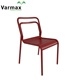 Leisure Ways Stacking Banquet Cheap Cast Outdoor Garden Beach Camp Bar Coffee Metal Aluminum Dinner Chair