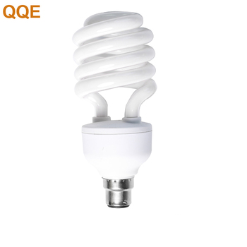 2018 QQE wholesale half spiral 65w energy saving compact fluorescent cfl lamp