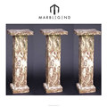 China factory price natural stone interior decorative wedding columns