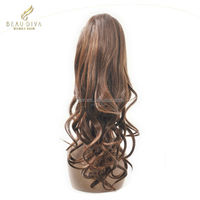 synthetic draw string pony tail/synthetic extension/synthetic hair