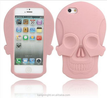 Skull Shaped Silicone Protective Cell Phone Case&Silicone Cell Phone Case&Silicone Cell phone box