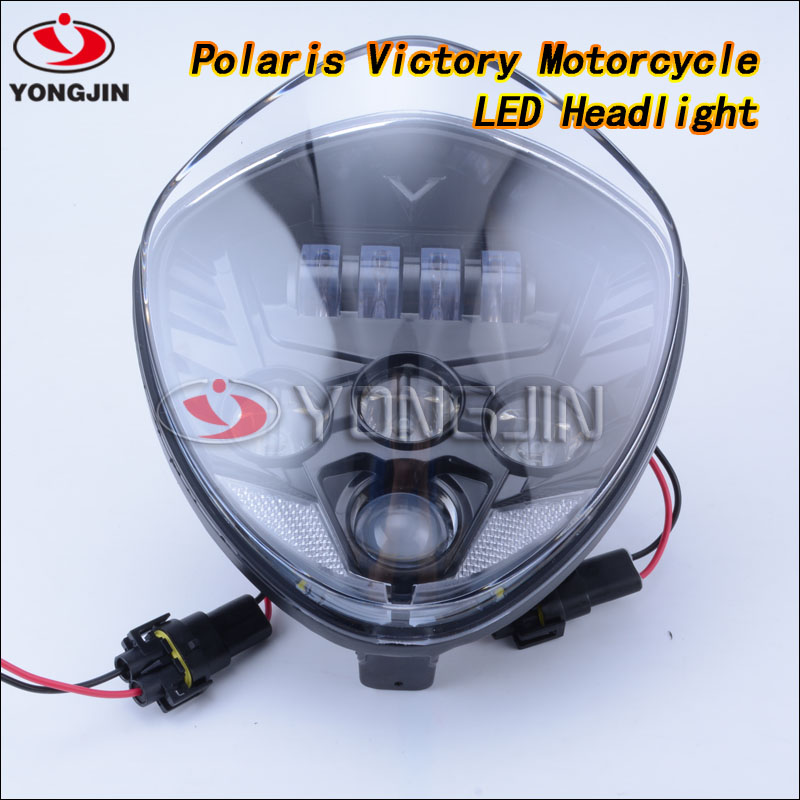 Victory cross-country Motorcycle led driving light led headlight for Polaris Victory