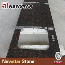 Newstar commercial cheap custom Tan brown granite precut kitchen laminate island bar counters countertop for sales