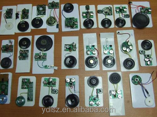 Bulk produce Recordable Voice Module for Greeting Card Music Sound Talk chip musical