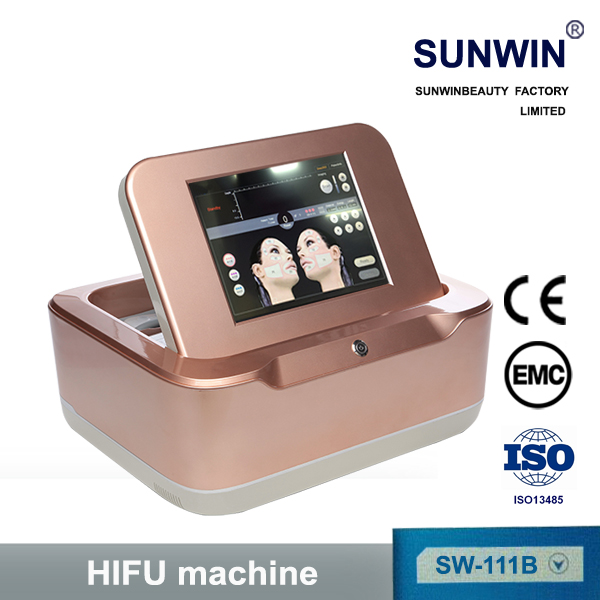 hifu ultrasound face lift machine