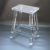 Luxury Crystal Clear Acrylic Desk Chair OEM Factory Sell China