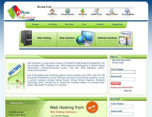 Dynamic web site design