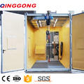 Container Abrasive Blasting Room with Traveling Crane System