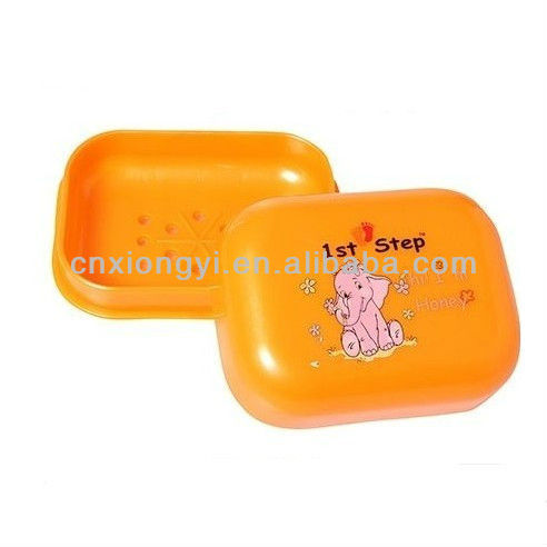 Plastic colorful Soap case