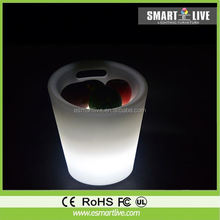 Warm Light Fashion Look Rechargeable LED Pillar Table for Party Events and Indoor Decoration