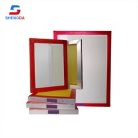 Factory 20x24 inch Aluminum screen printing Frame for silk screen printing