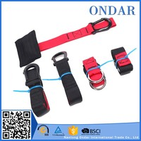 Anti-Tear latex exercise band set in fast delivery