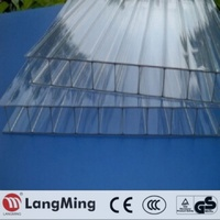 greenhouse roofing carport ge bayer 4mm 6mm 8mm 10mm hollow polycarbonate sheet