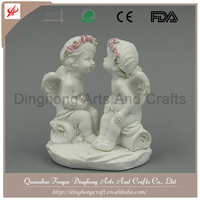 Small Angels And Fairy Figures, Resin Figurine Polyresin Baby Angel Statue