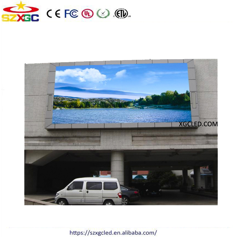 outdoor rgb full color 5mm high denifition led panel p5 outdoor led video display