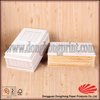 Engraving and handmade small unfinished wooden boxes