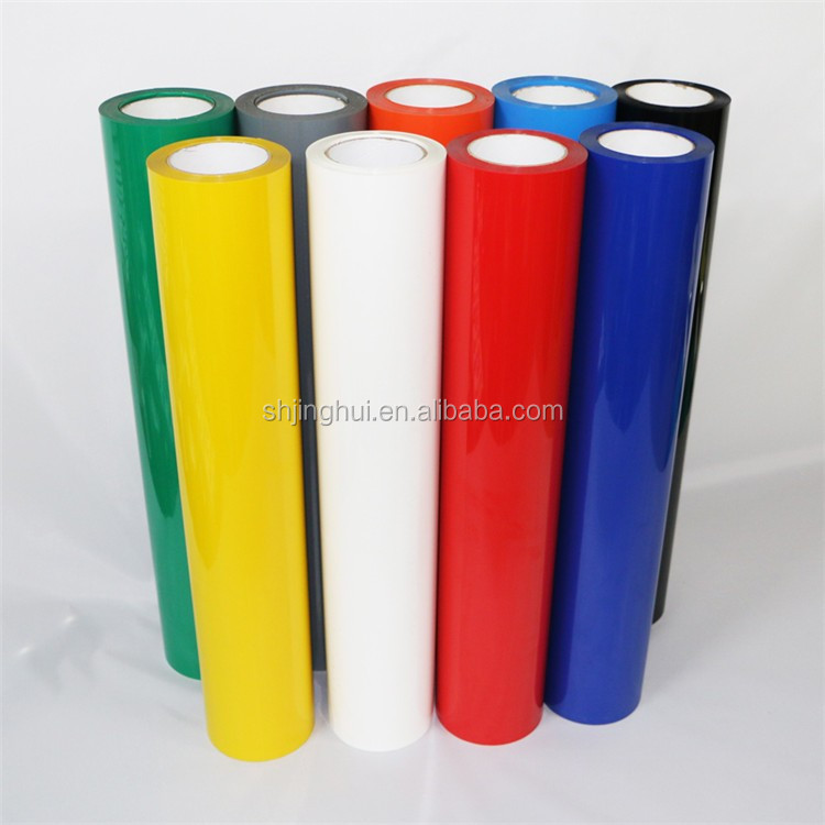 wholesale in USA pu15 different colour HTV use Customized popular Heat transfer vinyl