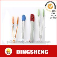 High Temperature Silicone Tongs/serving tong