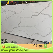"Chinese Suppliers Bathroom 18"" hot sale top low price artificial quartz philippines wholesale"