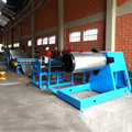 High precision automatic steel slitting machine / slitting line for steel plate