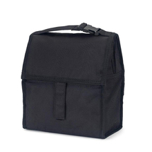 Freezable canvas foldable tote best lunch bag with Zip Closure