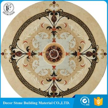 2017 most popular l waterjet floor medallion for wholesale