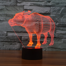 FS-3181 led small night light usb socket wineshop decor lamp magic illusion light