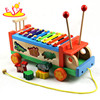 2017 hot sale kids wooden toy car fashion children wooden toy car popular baby wooden toy car W04A214