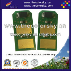 (TY-OC330) compatible smart toner chip for OKI MC351 MC361 MC561 MC352 MC362 MC562 MC 351 361 561 352 362 562 C351 2k/3k/3.5k/5k