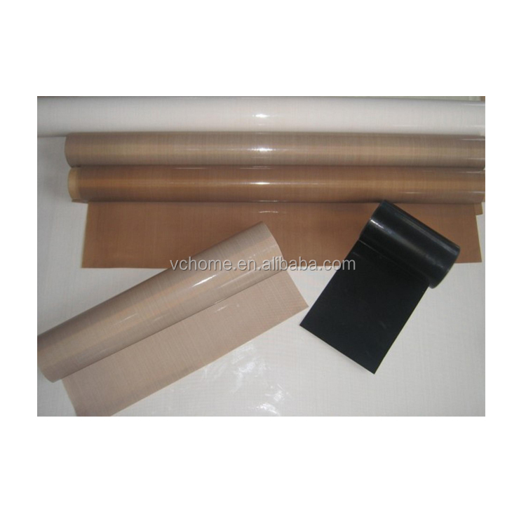 Taizhou supplier thermal insulation PTFE teflon glass fiber coated fabric cloth