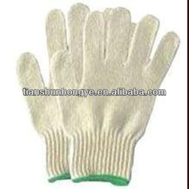 industrial working for worker white cotton hand gloves