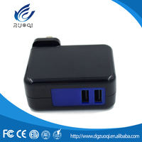 High quality oem universal charging dual usb wall charger for mobile phone