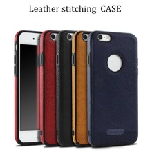 Business Leather Phone Case for Samsung Galaxy S6 S7 Edge S8 Plus Pu Cases Luxury Ultra Thin Soft PU Back Cover Protective Shell