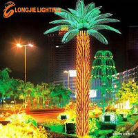 led palm tree for outdoor decoration