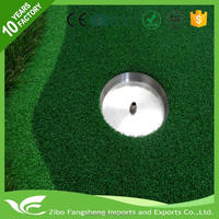 2016 New design indoor golf game heat resistant floor mat grass seed mats with CE certificate