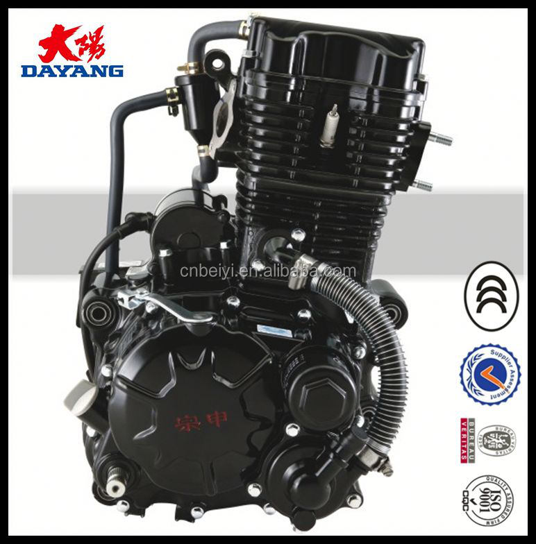 Single Cylinder Four Stroke Water Cooled Zongshen 150cc Motorcycle Engine