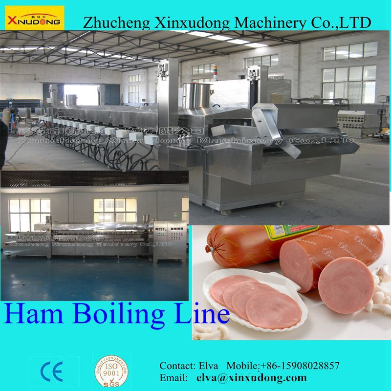 Automatic Ham, Sausage Boiling Machine; Boiler for Ham and Sausage