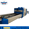 Automatic wood PVC film cabinet door vacuum membrane laminating press machine with two tables