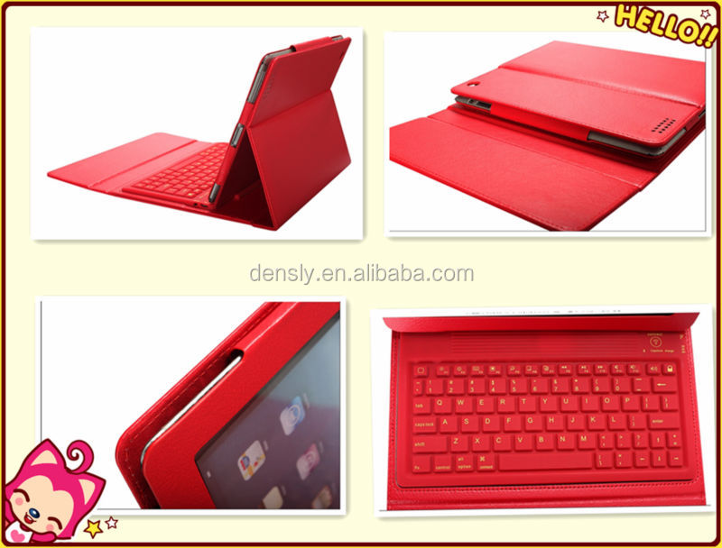 Bluetooth keyboard case for ipad bluetooth sillicone case