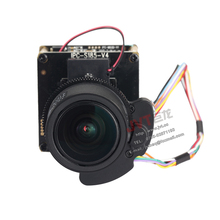 2MP Hi3516D+Sony IMX185 CMOS 1/1.8 inch Star-light True-color IP Camera module,YOTO 3.6-11mm Motor-drive lens, 4X auto-focus