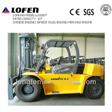 China Lonking top brand 10ton forklift scale models with ISO/CE/GOST certified