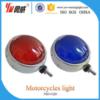 12volt police rear lights led motorcycle warning light round and square