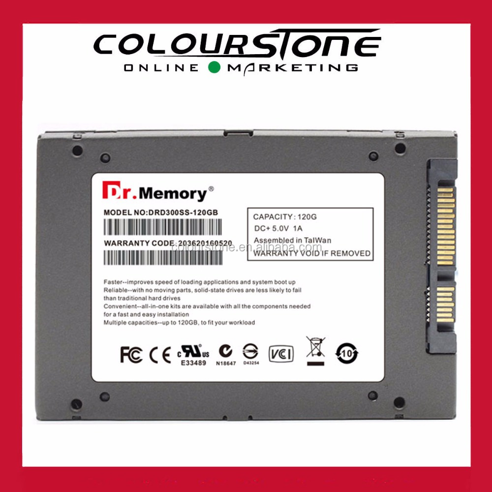 Top quality 3 years warranty 2.5 inch SSD hard drive 120GB SATA III 6Gb/s for laptop notebook