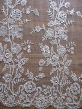 Lita Swiss Nylon Folded Yarns Fabric Lace full stone ,Embroidery Fabric Lace With Beads For Dress dresses from dubai