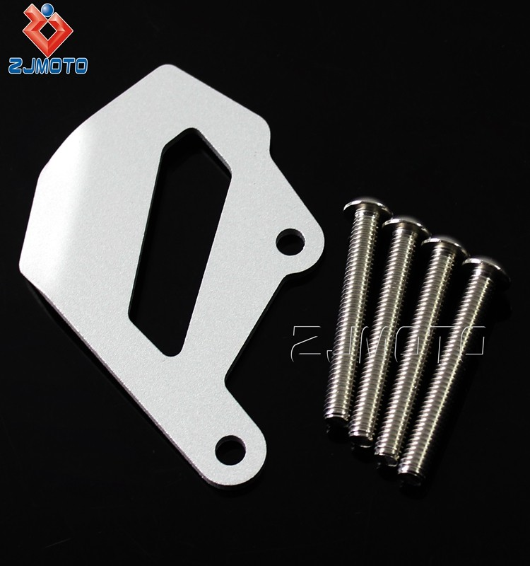 Chinese Manufacture Wholesale Aluminum Sliver Rear Brake Capliper Protector Reservoir Guard Cover For R1200GS LC 2013-2016