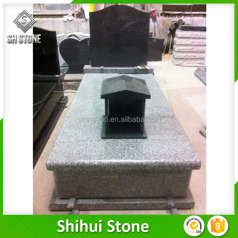 Australia Headstone Black Granite Headstones With Simple Design